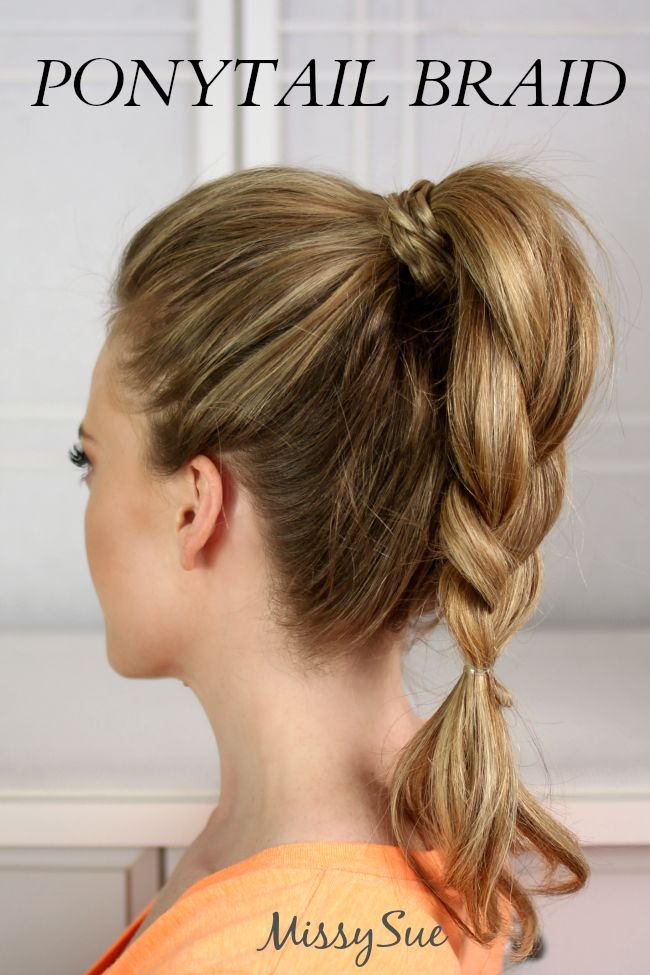 haircut tutorial for hair 17 best ideas about high ponytail braid on 4618