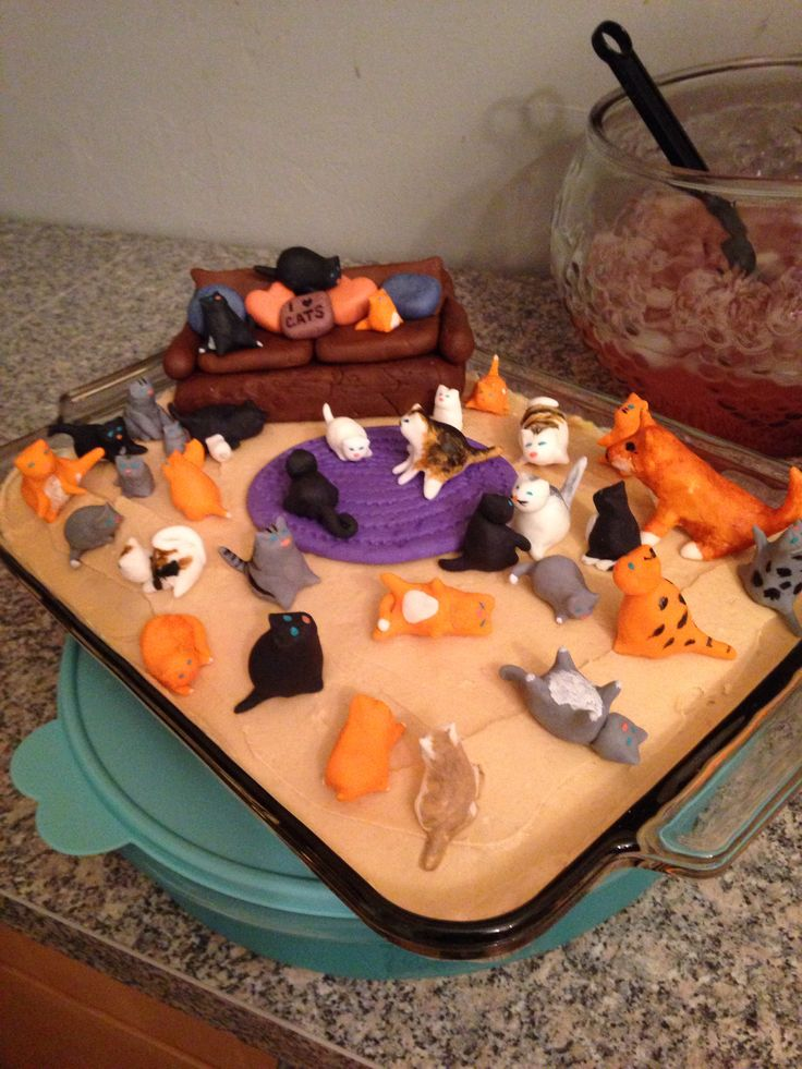 Birthday Cake Images Lady : Crazy cat lady cake Party/Holiday ideas Pinterest ...