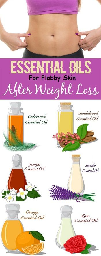 9 Ultimate Essential Oils For Flabby Skin After Weight Loss