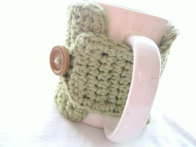 coffee mug cozy mug pinterest tricot tricot crochet. Black Bedroom Furniture Sets. Home Design Ideas