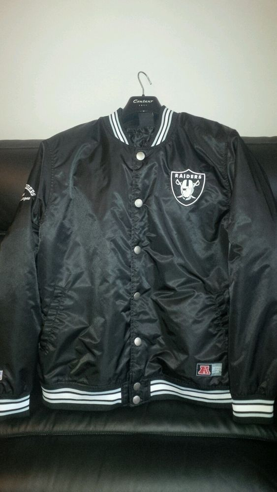 RAIDERS STARTER JACKET NFL MINTY in Clothes, Shoes & Accessories, Men's Clothing, Coats & Jackets   eBay