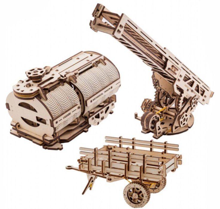 UGEARS 3D puzzle Příslušenství k Trucku UGM-11 322 dílků