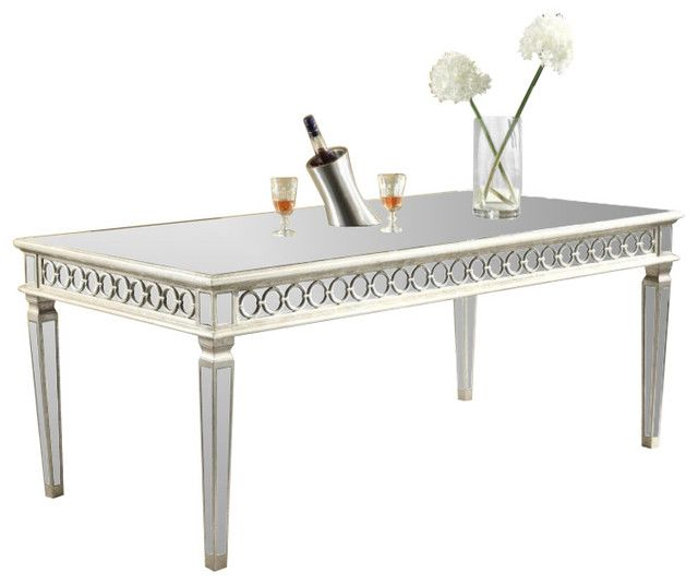 Amina Contemporary Silver Dining Set Silver Dining Tables : b686ac1cd75159cb789bae4c45de48ad online furniture stores mirrored table from www.hargapass.com size 640 x 536 jpeg 24kB