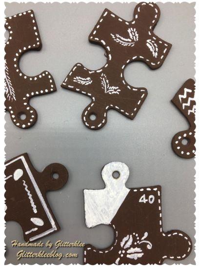 Lebkuchen Puzzle Dekoration Http://glitterkleeblog.com/2017/10/14