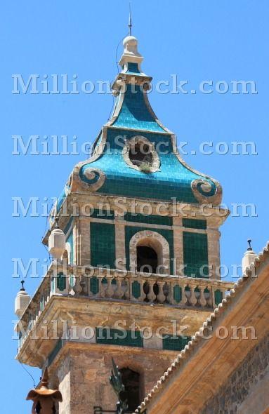 The Charterhouse of Valldemossa in Mallorca island. Spain