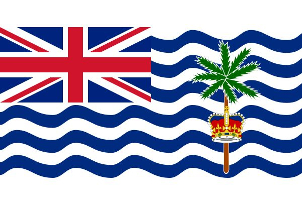 Flag of the British Indian Ocean Territory,. British Overseas Territory