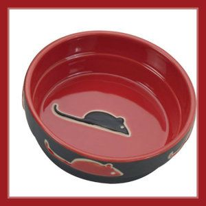 Ceramic Cat Bowls Ethical Pet Products (Spot) CSO6892 Fresco Cat Dish, 5-Inch, Red Ethical Pet Products have a reputation for delivering good quality products. This red Fresco design has a matte finish on the outside, while a high gloss finish on the inside. http://theceramicchefknives.com/ceramic-cat-bowls/   Ethical Pet Products (Spot) CSO6892 Fresco Cat Dish