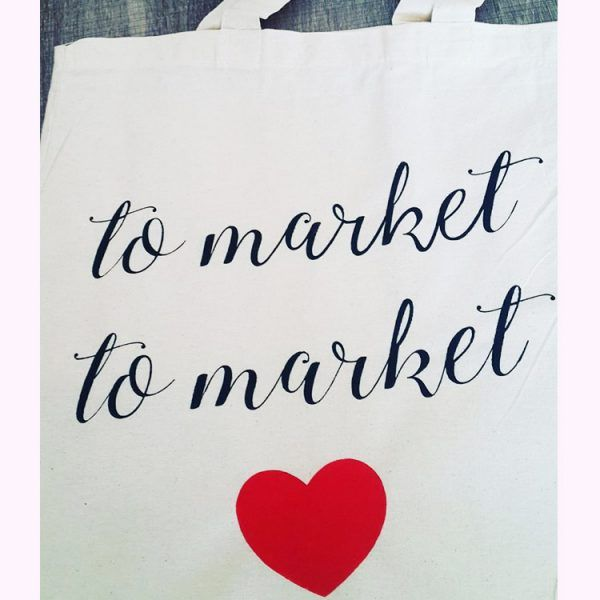 To Market Tote Bags