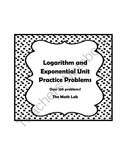 46 best Algebra 2: Exponential and Logarithmic Functions