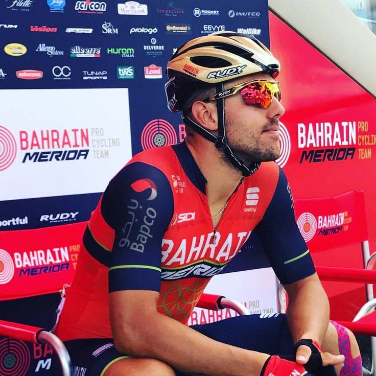 "163 mentions J'aime, 1 commentaires - Team Bahrain Merida (@bahrain_merida) sur Instagram: ""@letourdefrance Stage 4: Mondorf-les-Bains > Vittel 207,5km is about to start and Sonny Colbrelli…"""