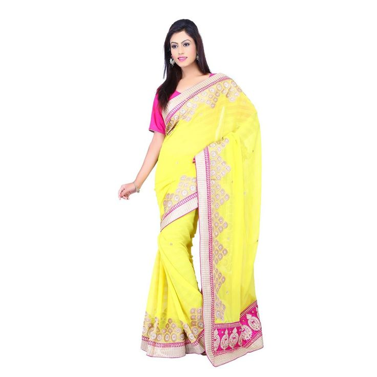 Exclusive New Designer party wear indian wedding Yellow saree with Lovely Blouse #Milonee #NewDesignerSaree