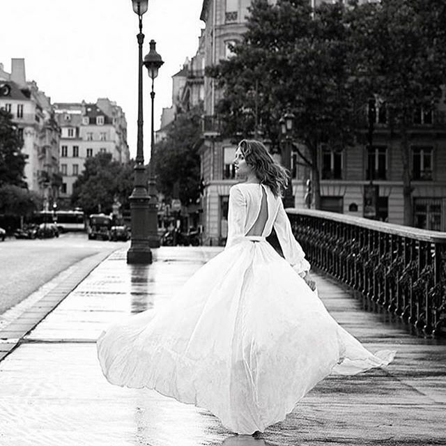 • PARIS • When your gowns go to Paris magic happens • A sneaky behind the scenes shot of our @chosenbyoneday Celine Gown by @_andrew_j_morley • We cannot wait to see more from this shoot @emilyabay_photographer @laura_gavry • #paris #photoshoot #editorial #chosen #oneday #celinegown  #Regram via @onedaybridal