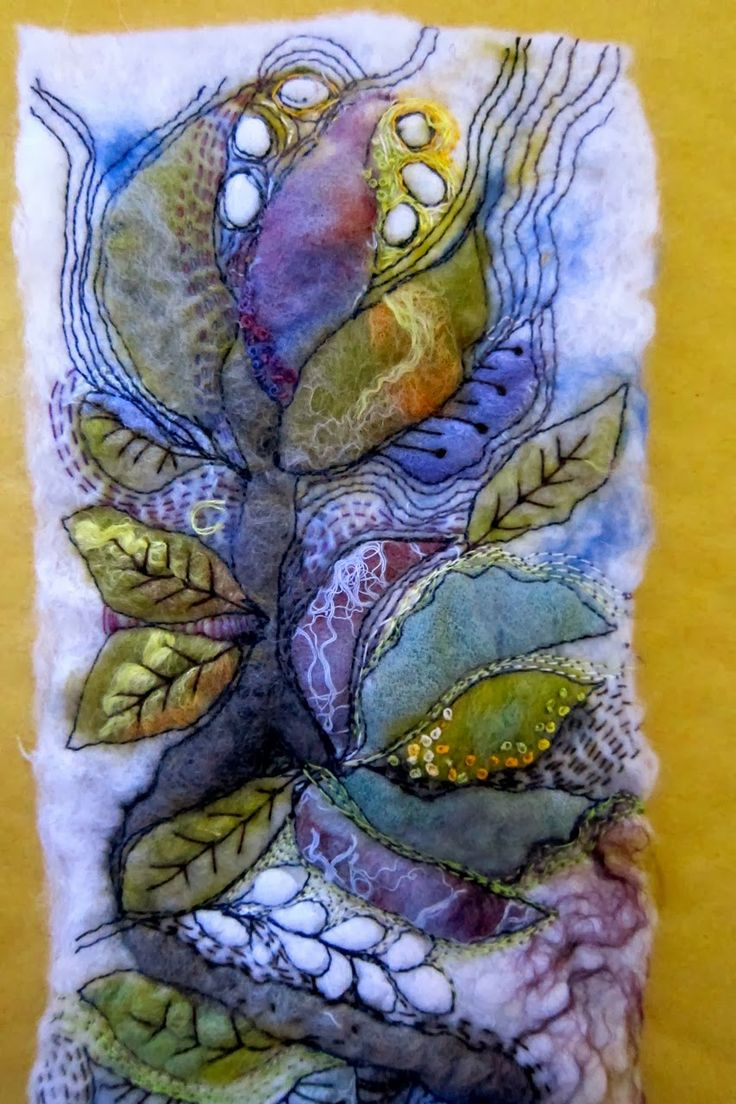 gorgeous textile art
