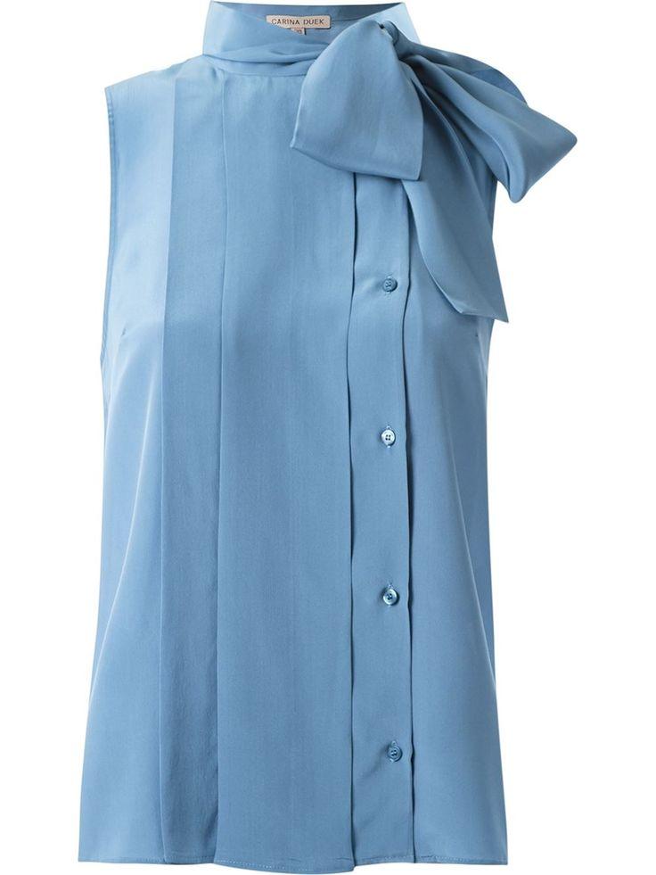 Carina Duek Camisa De Seda - Carina Duek - Farfetch.com Mais