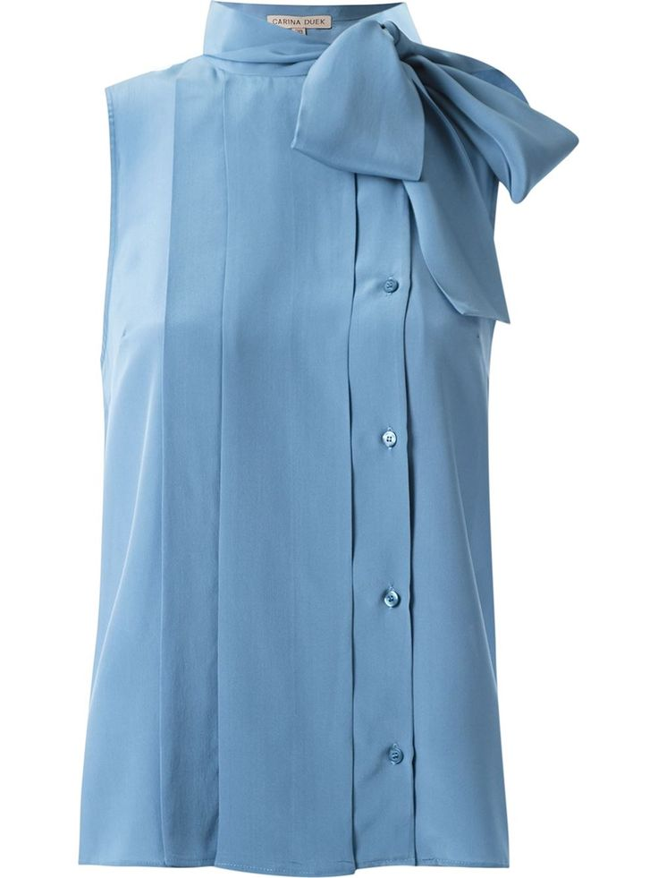Carina Duek Camisa de seda