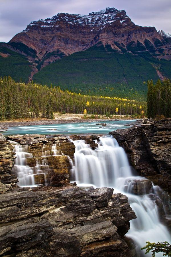 Athabasca Falls, Banff National Park, Canada
