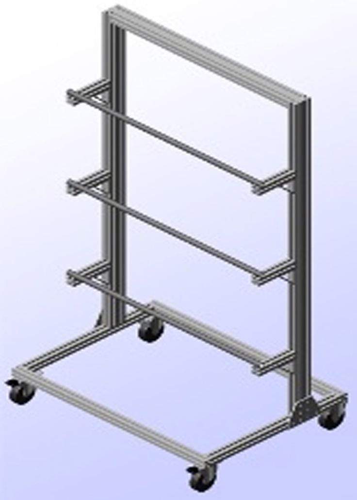 faztek has re designed the traditional pneumatic tubing cart this cart is see more minitec t slotted aluminum