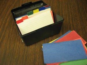 Index Card Work Tasks | The Autism Helper Sort colors