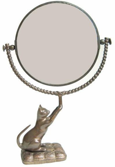 VANITY CAT MIRROR