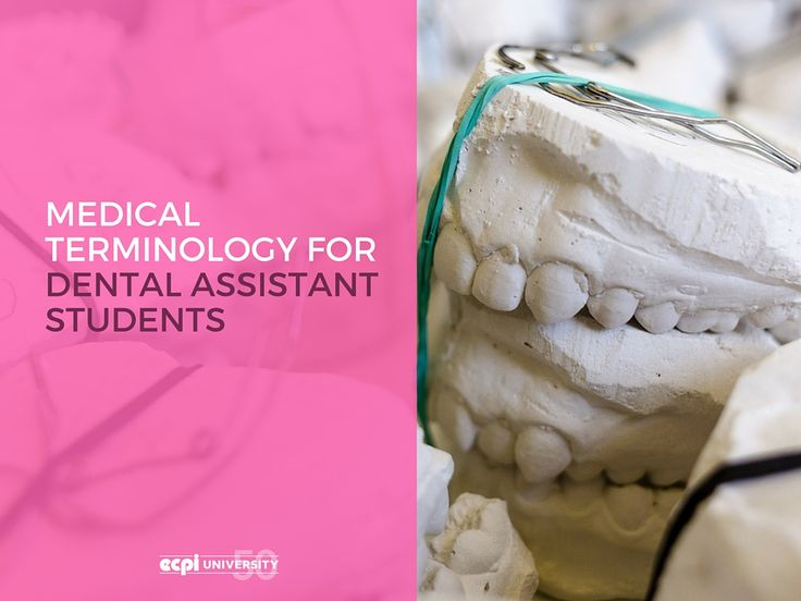 Medical Terminology for Dental Assistant Students | EPCI University