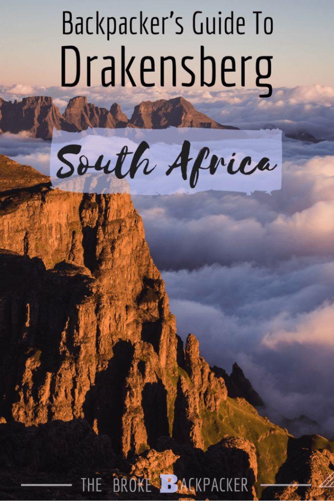 Drakensberg Pinterest image