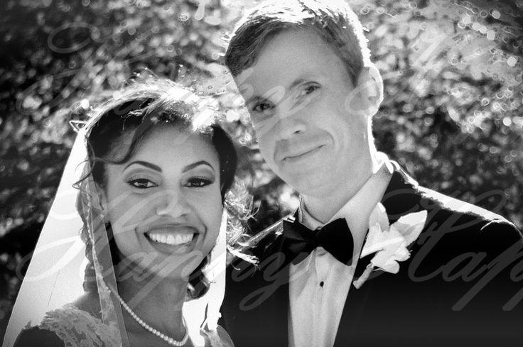 Outside of St-Philip-Benizi Catholic Church, Jonesboro, GA.--- I am a wedding photographer, I took these pictures, contact me for your wedding.