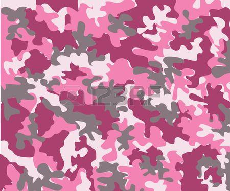 mogern motif camouflage rose Banque d'images - 3198298