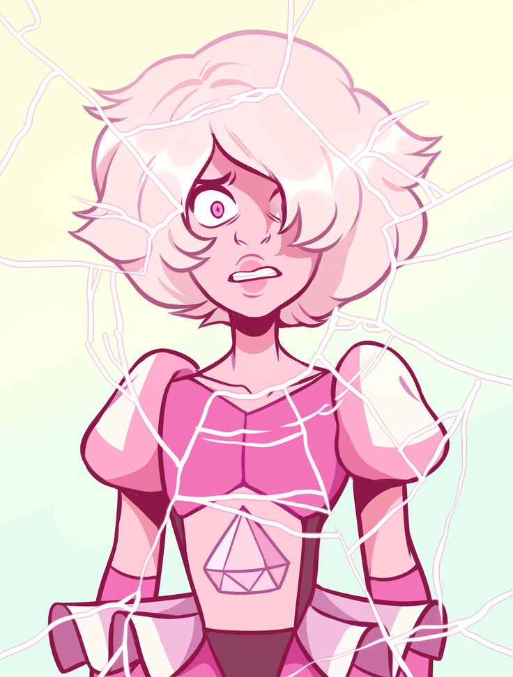 "She is a brat and I like her  Also I am pretty sure she's a ""defect' diamond… A deep-cut, like Amethyst. Just look at her gem- it's long, unlike what an ""ideal"" diamond shape should be. This is why she's small and has an extreme personality, I can..."