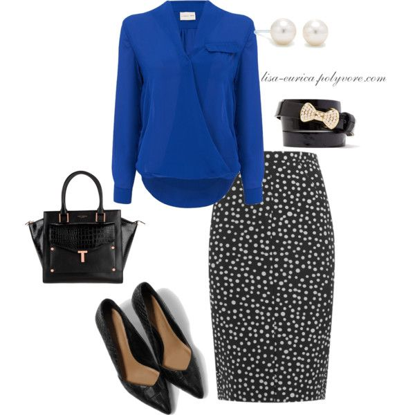 A fashion look from November 2014 featuring Atterley Road blouses, Whistles skirts and CHARLES & KEITH pumps. Browse and shop related looks.