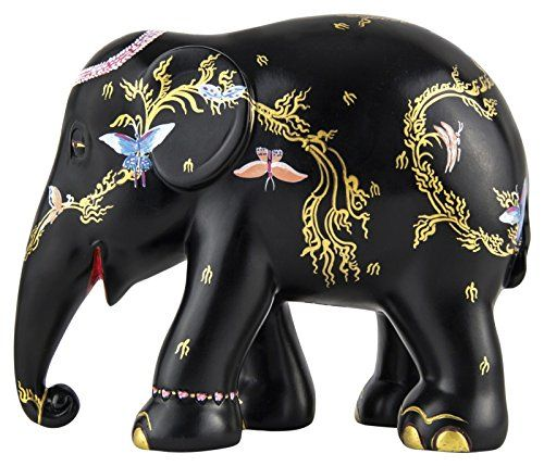 Elephant Parade 10cm Siam Butterfly Elephant: Amazon.co.uk: Kitchen & Home