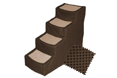 Best Pet Gear Designer 4 Step With Removable Cover Pet Stairs 400 x 300