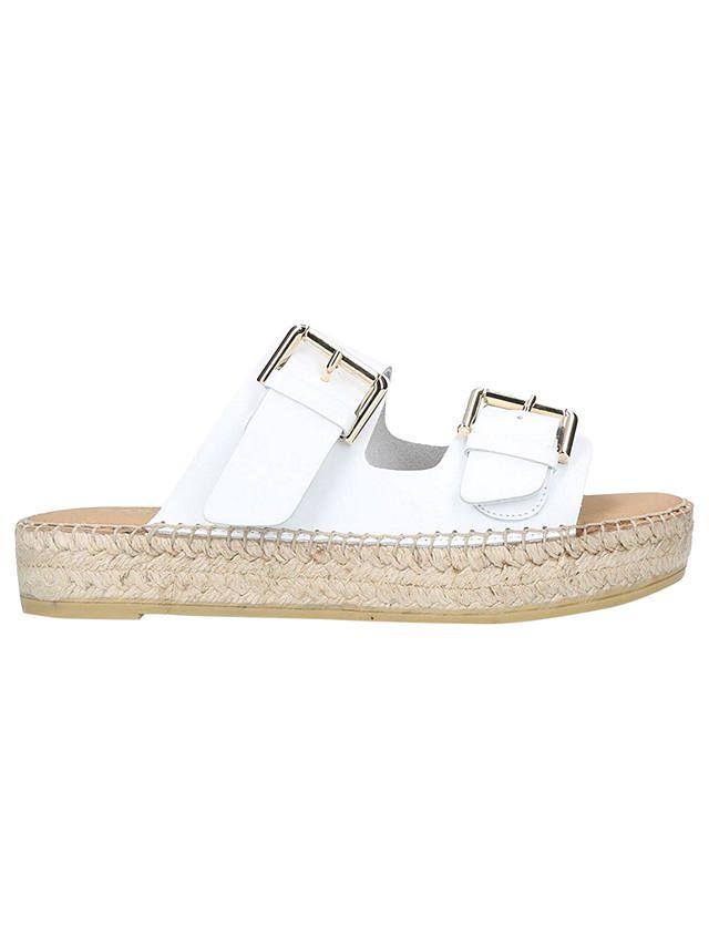 Carvela Klever Leather Slip On Sandals