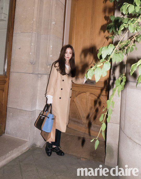 Jung Ryeo Won Shows Her Paris Fashion with 'Marie Claire' Magazine | Koogle TV