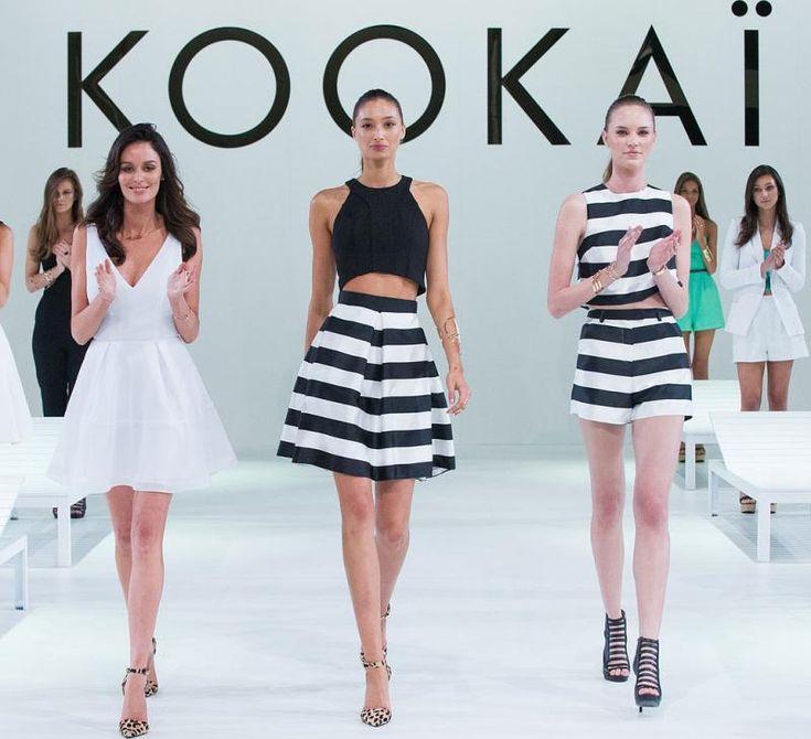 jupes-robes-rayées-noir-blanc-tendance-printemps-été-2015-Kookaï