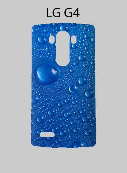 Water Drop Blue LG G4 Case Cover