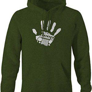 Jeep Wave Handprint Grill Pullover Sweatshirt