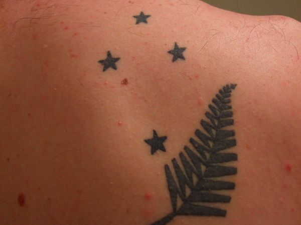 rob tattoo 25 Adorable Southern Cross Tattoo Designs