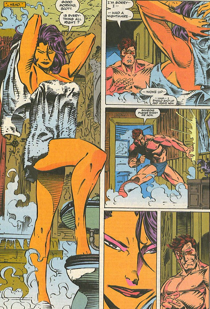 Cyclops and psylocke passionate sex