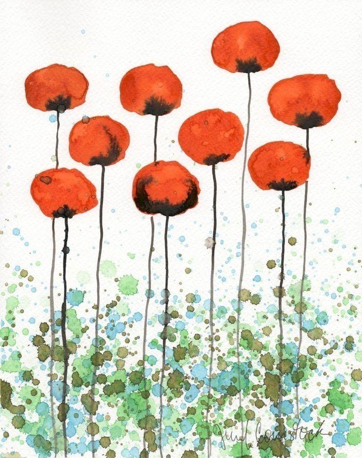 Buy 2 Get 1 FREE  Watercolor Painting Watercolor by PopwheelArt, $20.00