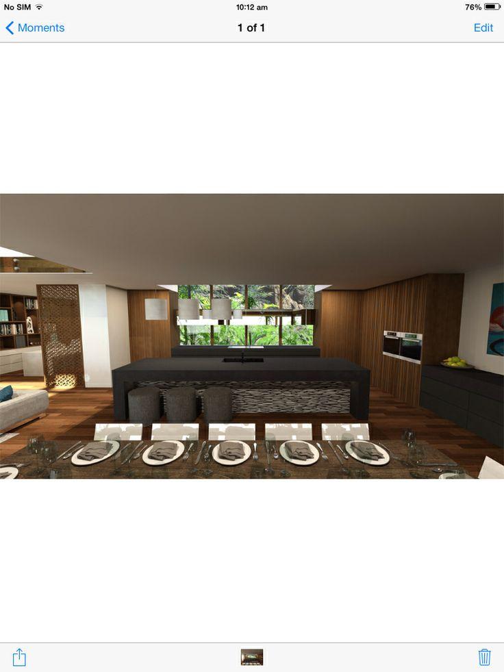 Chris Clout Design Tropical Resort Kitchen