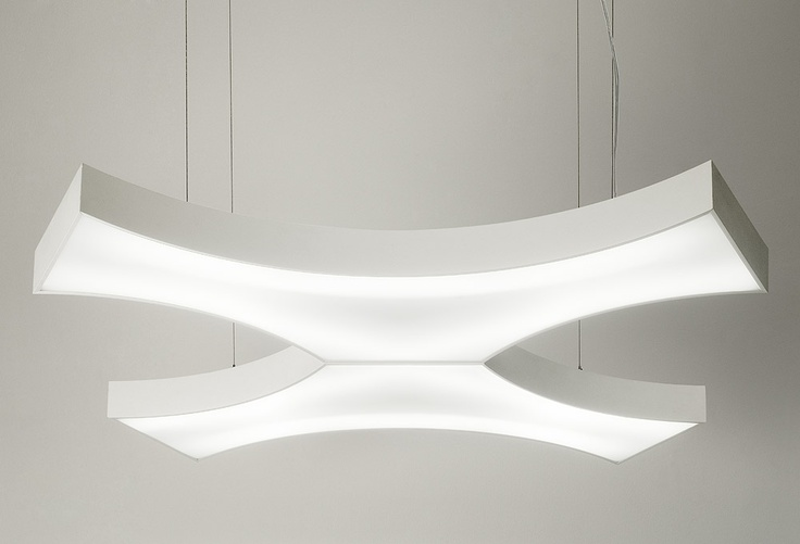 LED #lighting system MILA - twins