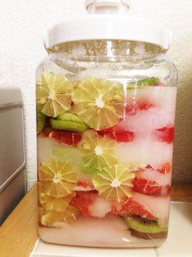 フルーツで簡単 手作り酵素シロップ