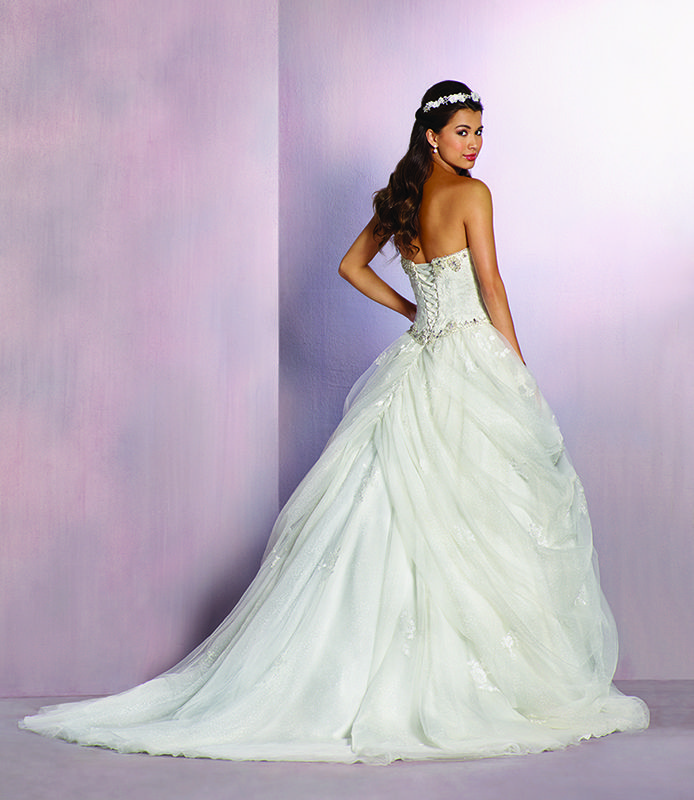 Ivory wedding dress inspired by belle 2016 disney 39 s for Fairytale inspired wedding dresses