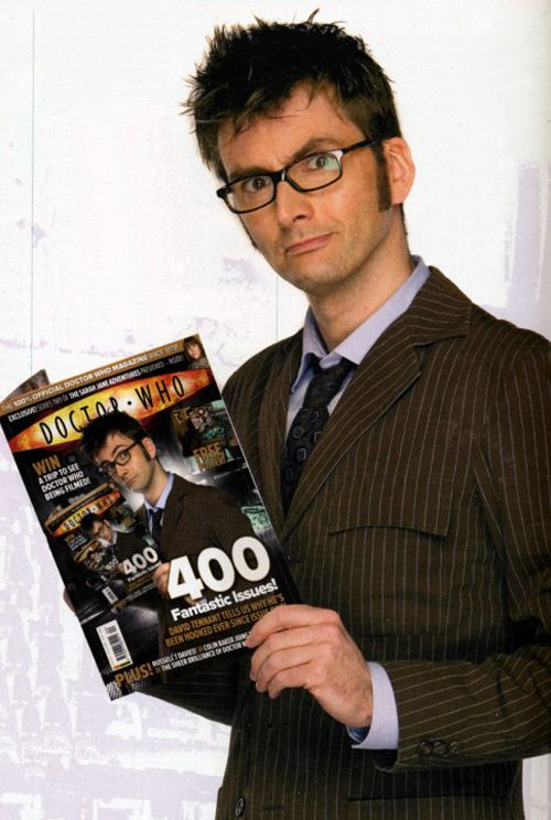 (100+) tenth doctor   Tumblr--- why don't I have that magazine subscription// infinity photo!