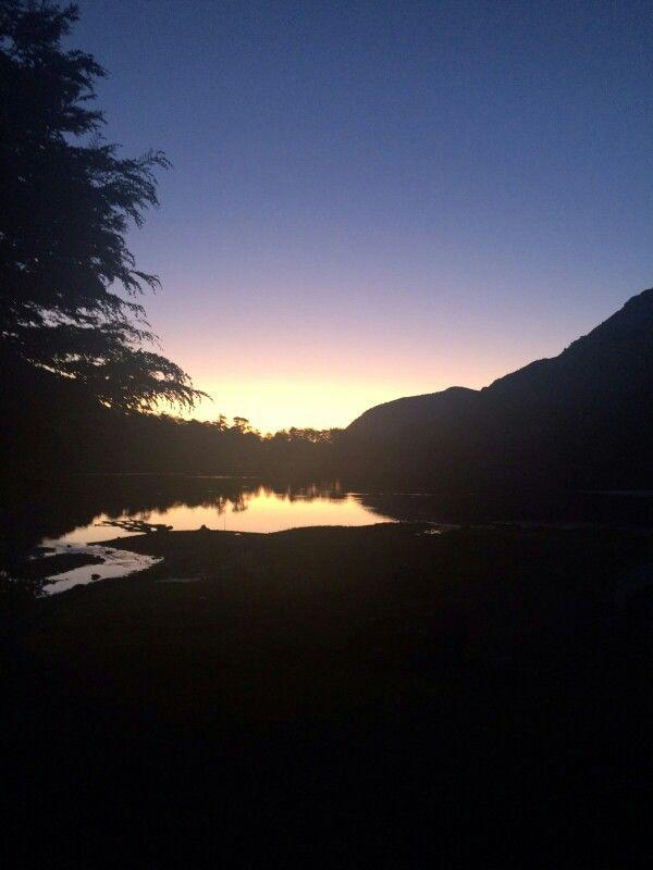 Laguna de la Plata, San Fabián de Alico, Chile