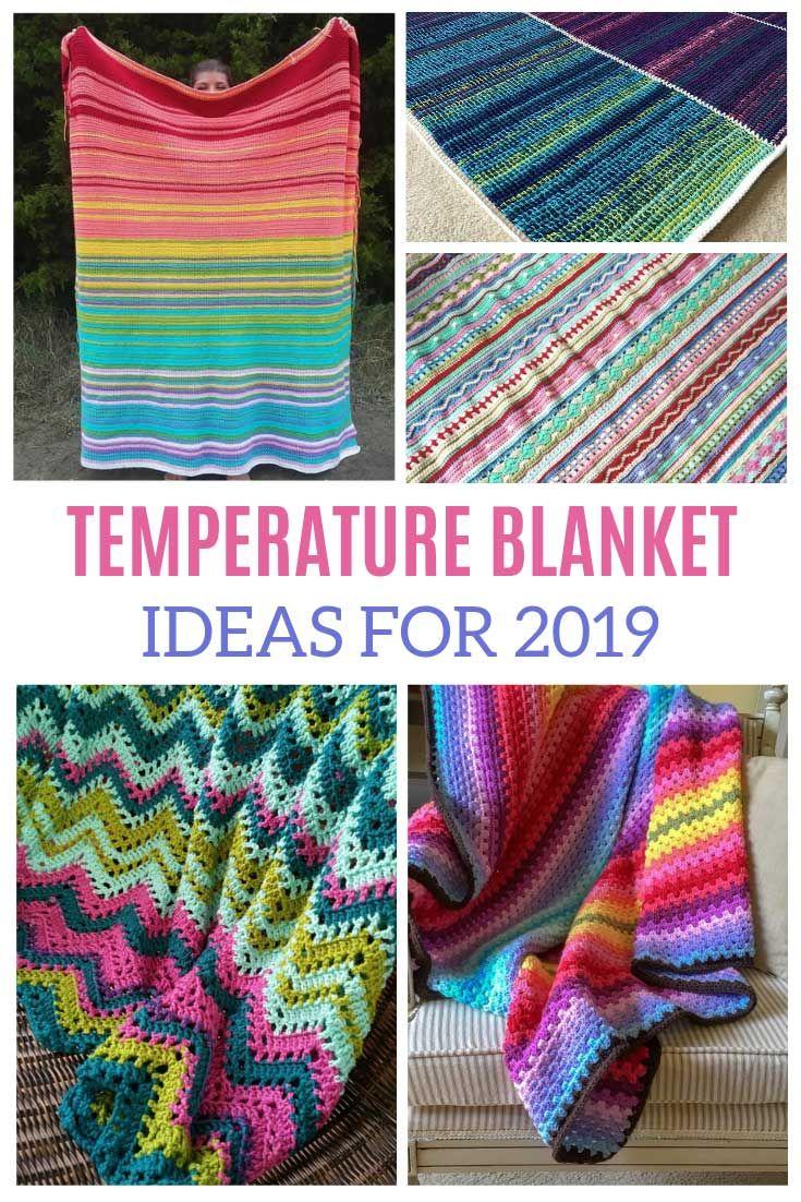 35a95d3fd Temperature Blanket Crochet Pattern  ideas for 2019!