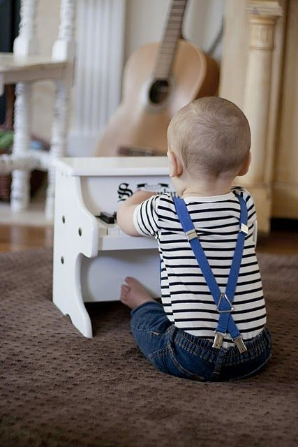 Yes if I have a little boy someday he will have suspenders like this.