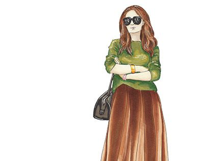 "Check out new work on my @Behance portfolio: ""Fashion in brown"" http://be.net/gallery/32954113/Fashion-in-brown"