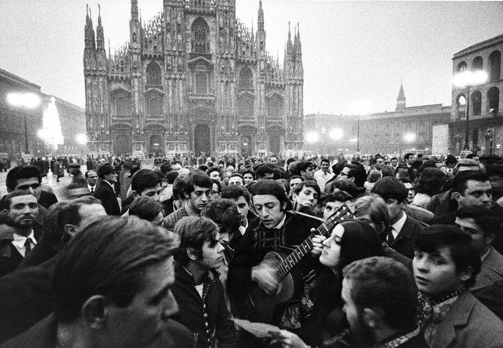Gianni Berengo Gardin, Milan 1968