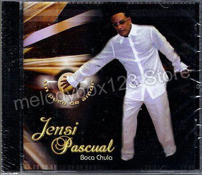 Jensi Pascual Boca Chula Un Poco De Amor CD Bachata Musica Romantica Tropical